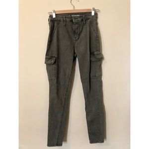 Army Green High Rise Jeggings